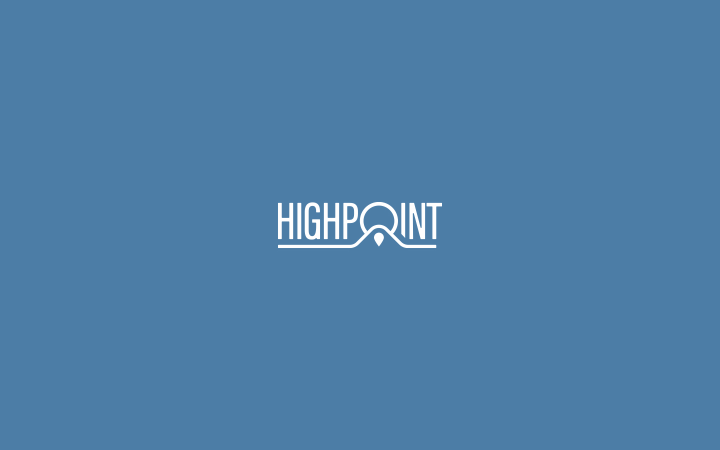 Logotype for Highpoint Residences. 2018