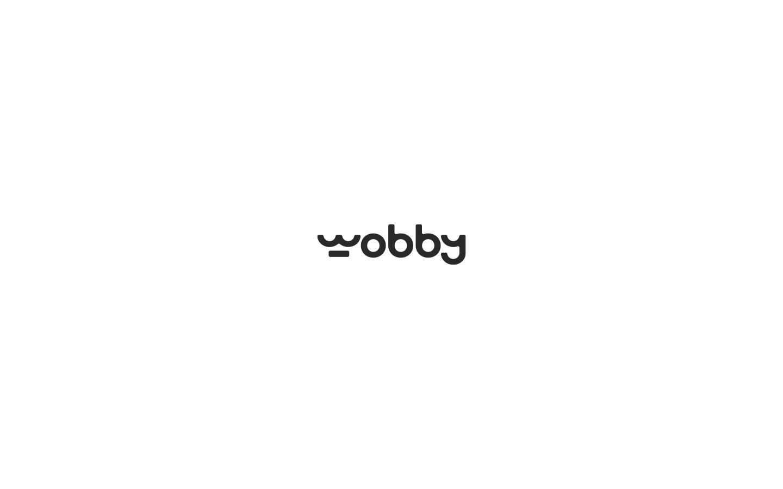 Logo for Wobby Media. 2018
