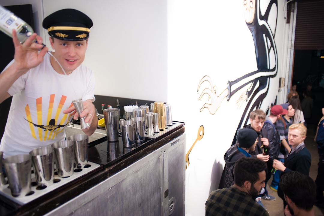 Trolley'd popup bar service