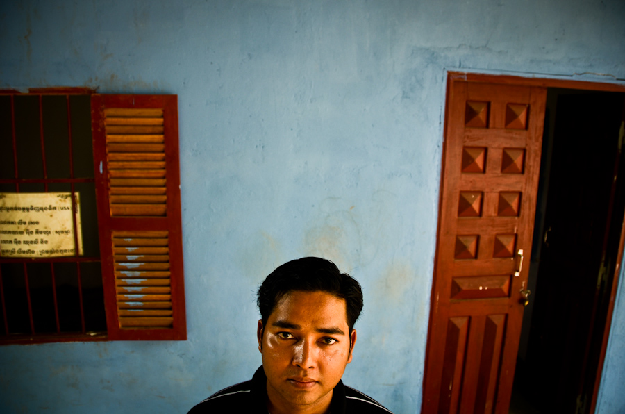 Kim Vuthy started what he believes is Cambodia's first retirement home. It's a shelter for destitute senior citizens in his home village in Prey Veng, Cambodia.