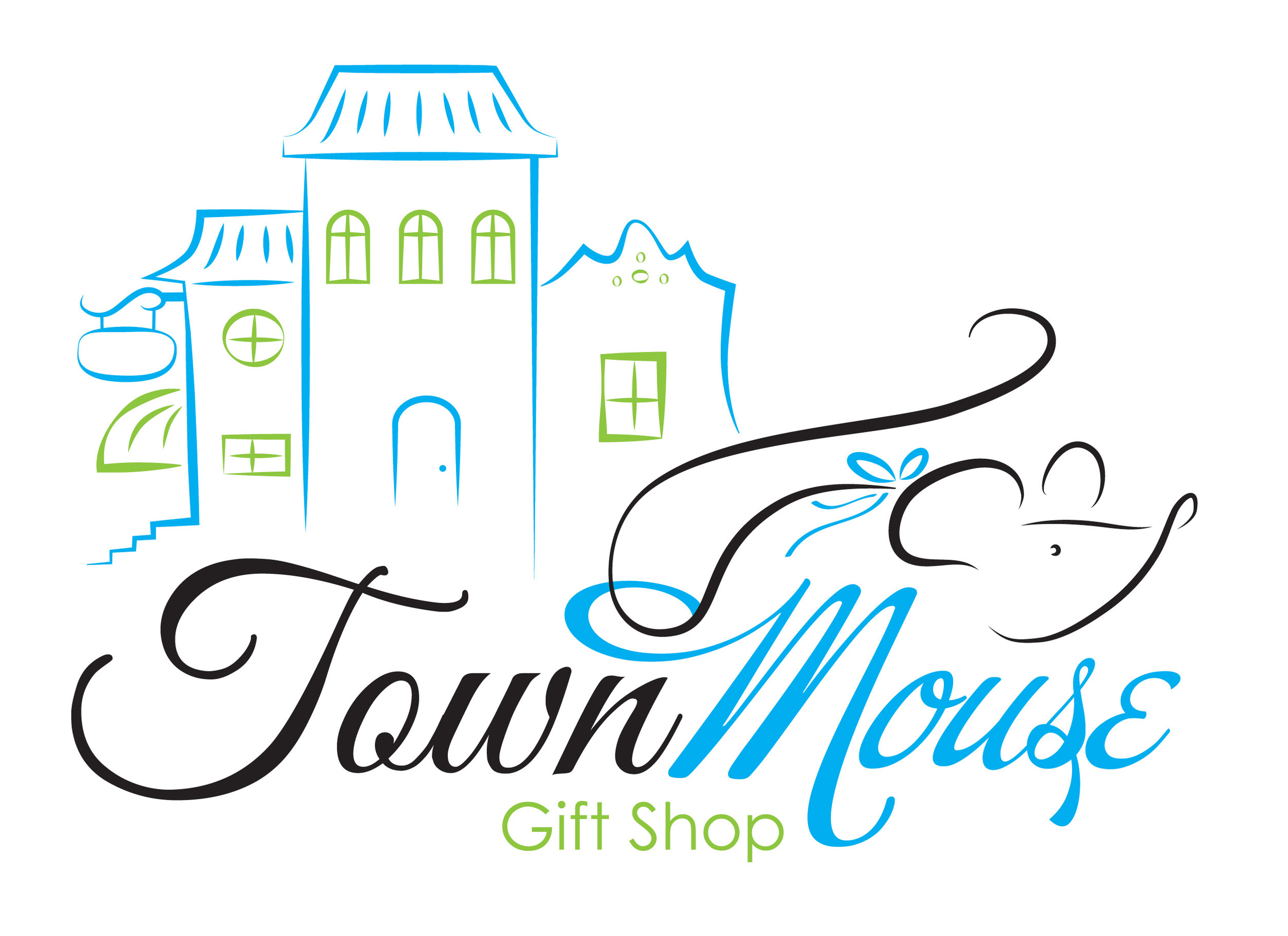 The Town Mouse Logo.
