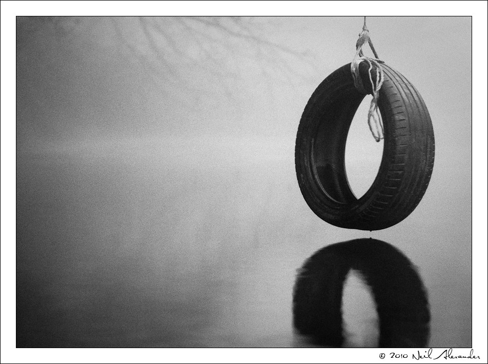 A  successful example of pre-visualisation. Tyre by Neil Alexander