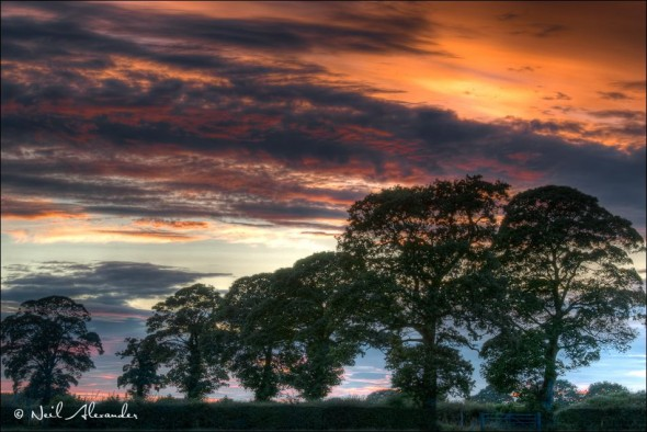 C heshire Sunset by Neil Alexander (Click to view larger)