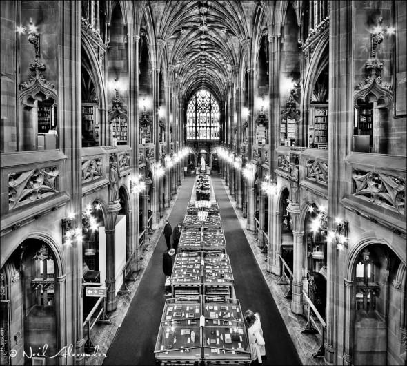 J ohn Rylands Library, Manchester (Click for larger)