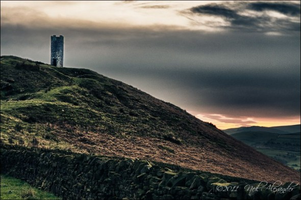 Blacko Tower, Nelson, Lancashire (Click for larger)