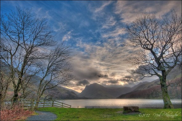 View over Buttermere, Lake District