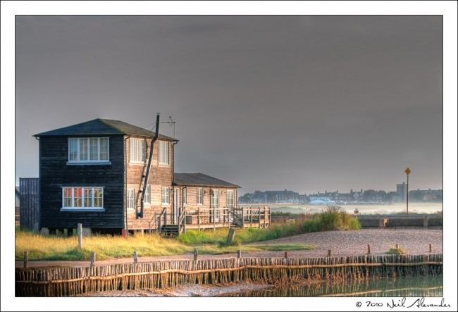 Walberswick, Suffolk at dawn by Neil Alexander