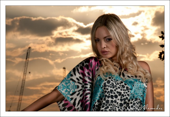 S outh Bank Portrait Shoot - Karolina Szwemin by Neil Alexander