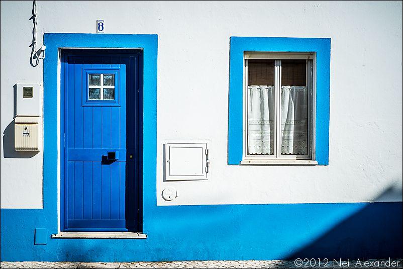 Burgau, Portugal - August