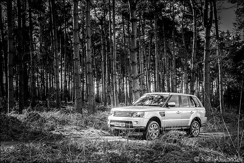 Land Rover Experience - Range Rover Sport