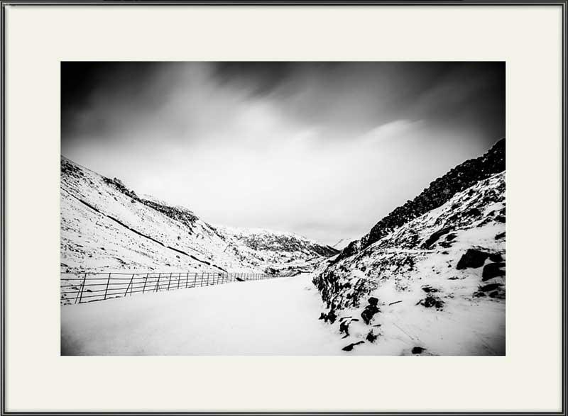 Kirkstone Pass in the snow