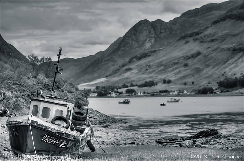 She's seen better days - GirlBeth, Dornie, Loch Long