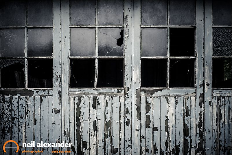 Derelict Garage, Lochearnhead