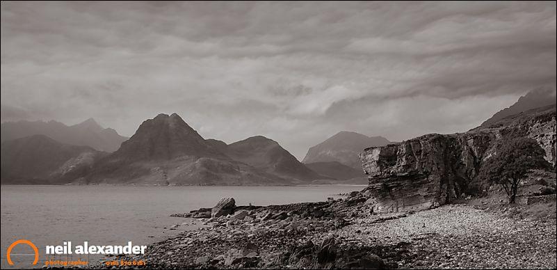 Loch Scavaig in the Cuillin, Skye