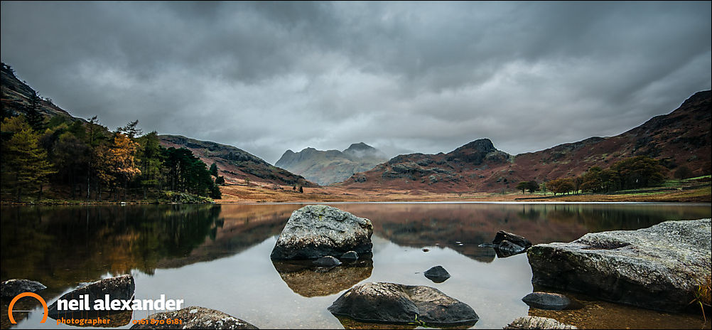 Blea Tarn. A trip to the Lake District that provided a great deal of wind and rain, and very little else.