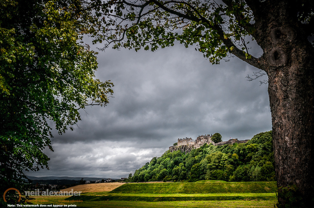 Stirling Castle, Scotland. Prints and canvases of this and other  images of castles can be seen here .