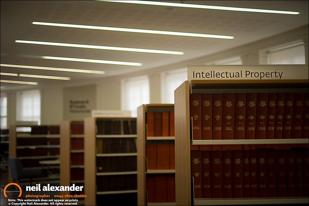 Intellectual Property Section at Manchester Central Library
