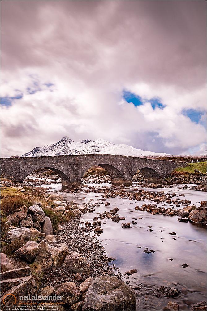 The bridge at Sligachan, Skye
