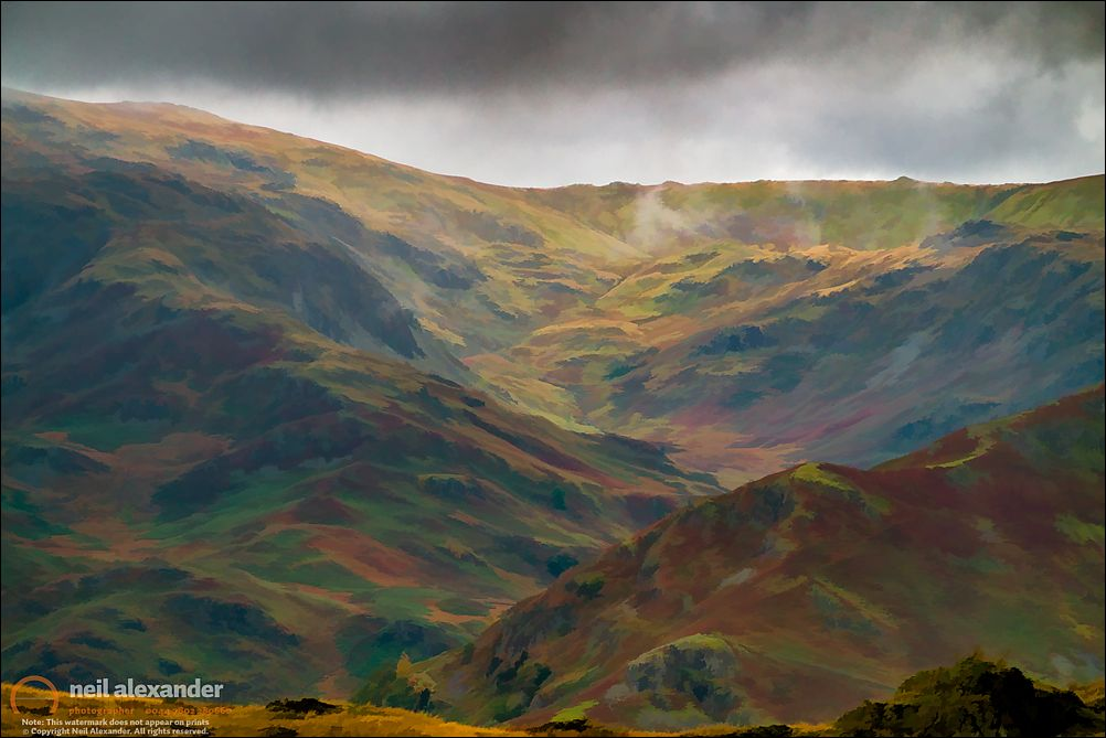 Cloudy Easedale