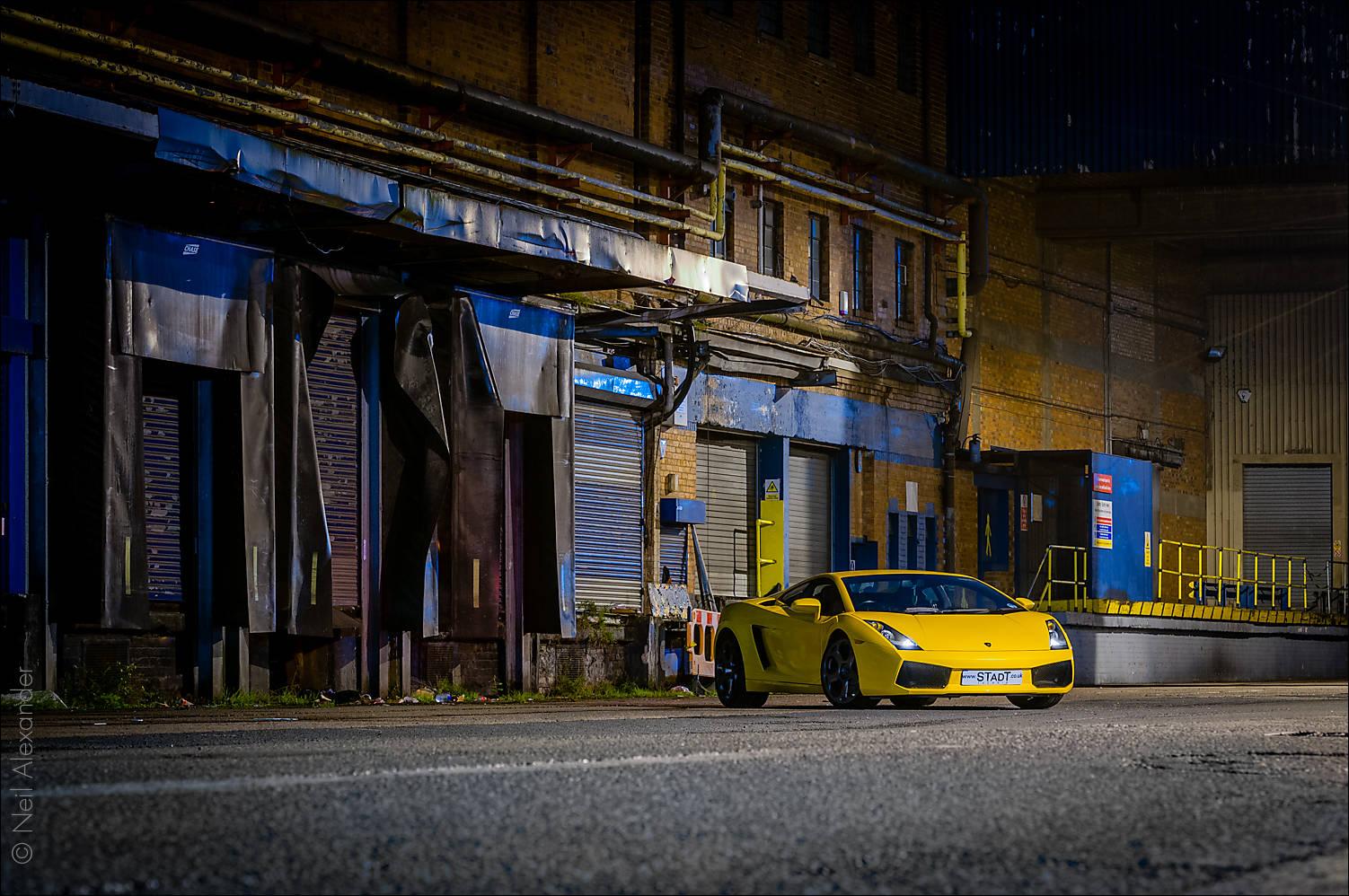 Gallardo in yellow