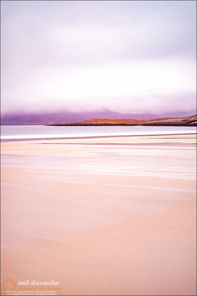 Luskentyre beach, Harris. Click to view large.  Prints here .