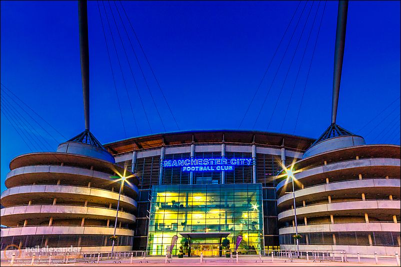 Eastlands - Home Of Manchester City
