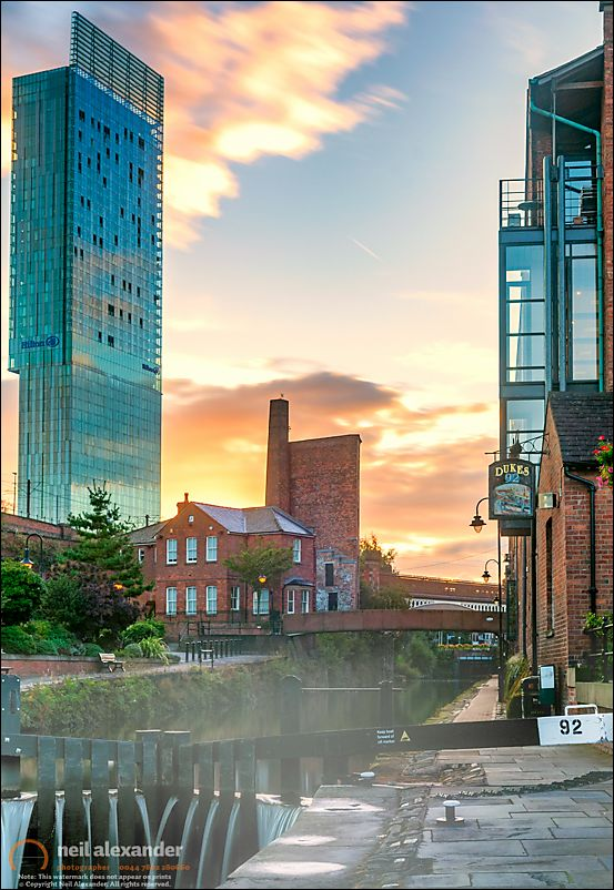 Deansgate Locks Overshadowed