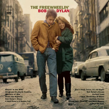 Suze Rotolo passed away today in New York, aged 67. Rotolo was Bob Dylan's girlfriend and muse in 1963 when he recorded the classic FREEWHEELIN' BOB DYLAN album - she appeared with him on its iconic sleeve: