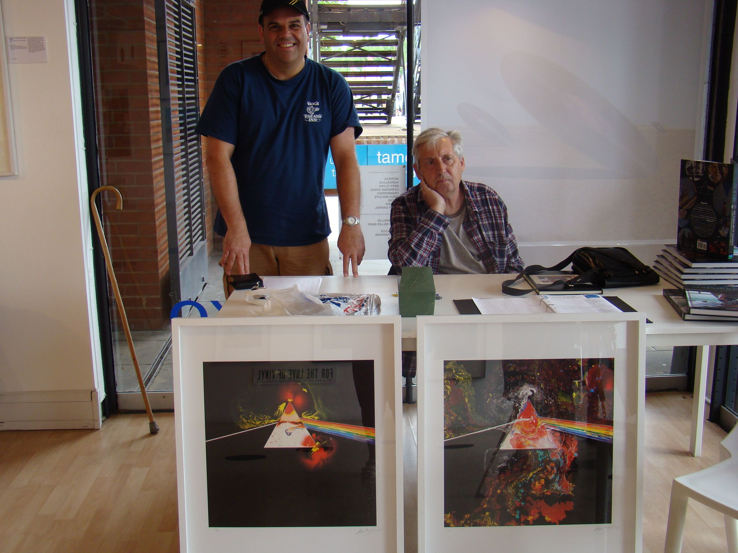 Storm Thorgerson and another satisfied customer
