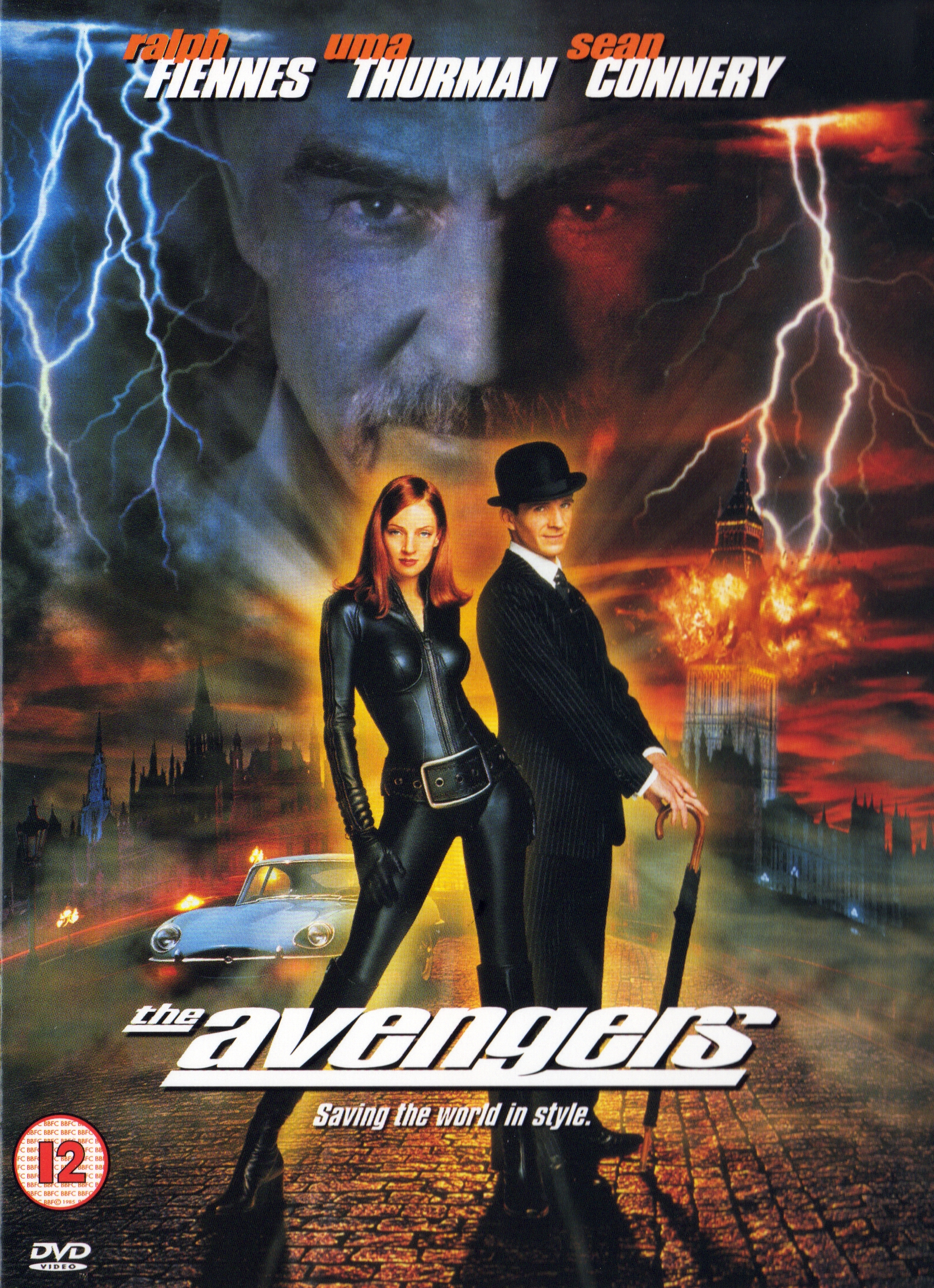 The Avengers (1998) DVD cover