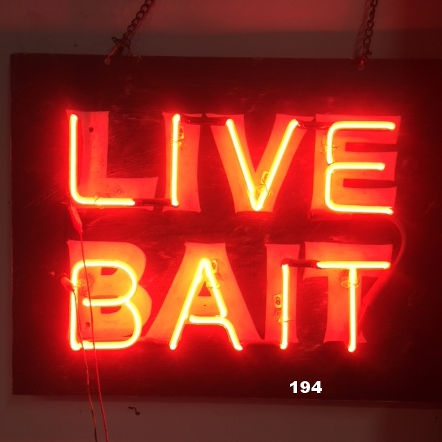 LIVE BAIT (Painted background)