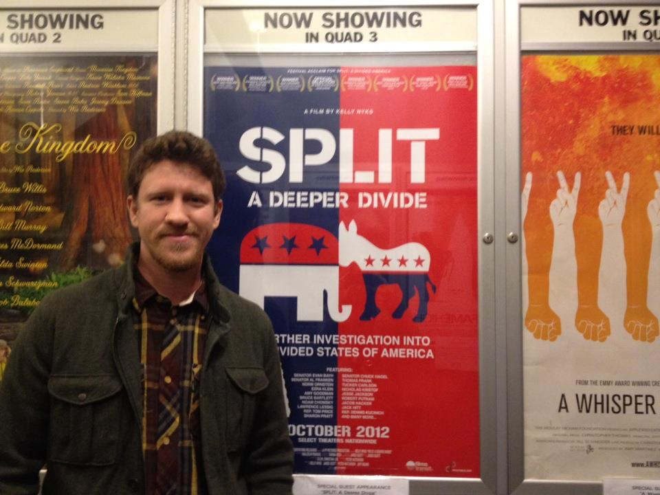 Opening night at The Quad Cinema in NYC.
