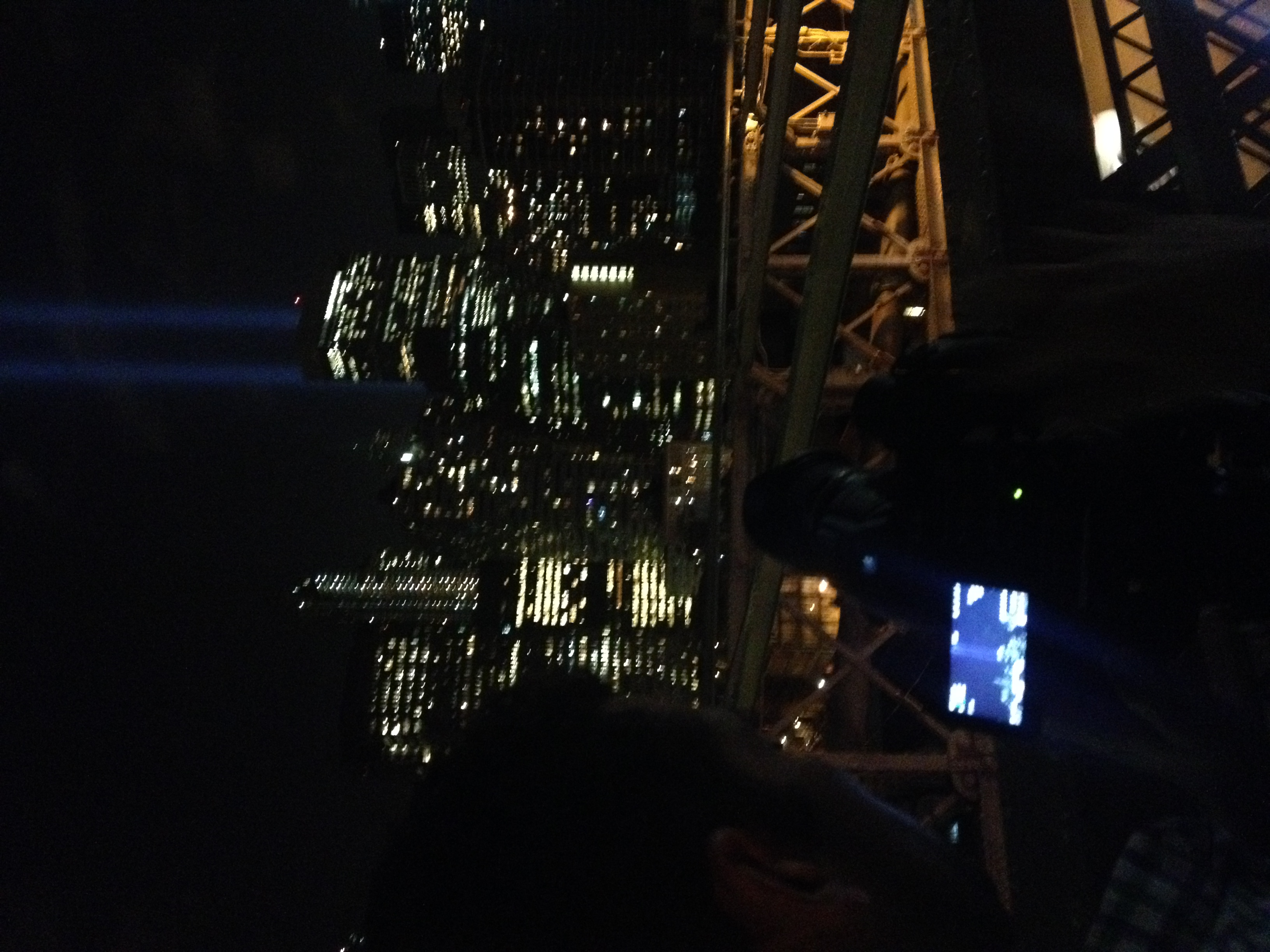 September 11th, filming on the Brooklyn Bridge for a few shots.