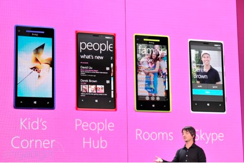 Microsoft announce Kid's Corner and People Hub features of Windows Phone 8