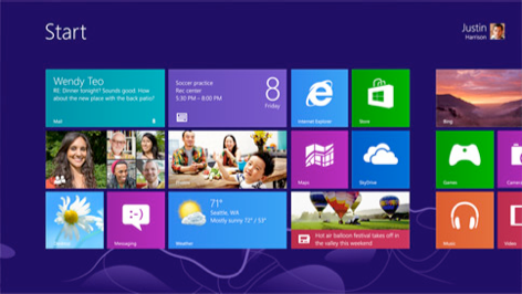 Windows 8 - ain't she pretty!