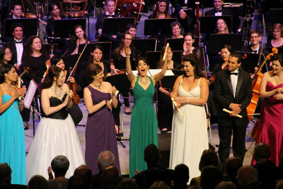 2013 Meistersinger Competition Audience Choice Award announcement, photo by Joel D. Castro
