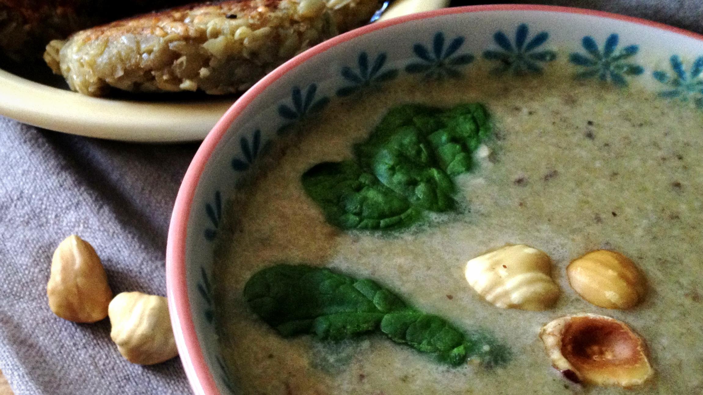 Norhteastern hazelnut soup and missiiagan-pakwejigan
