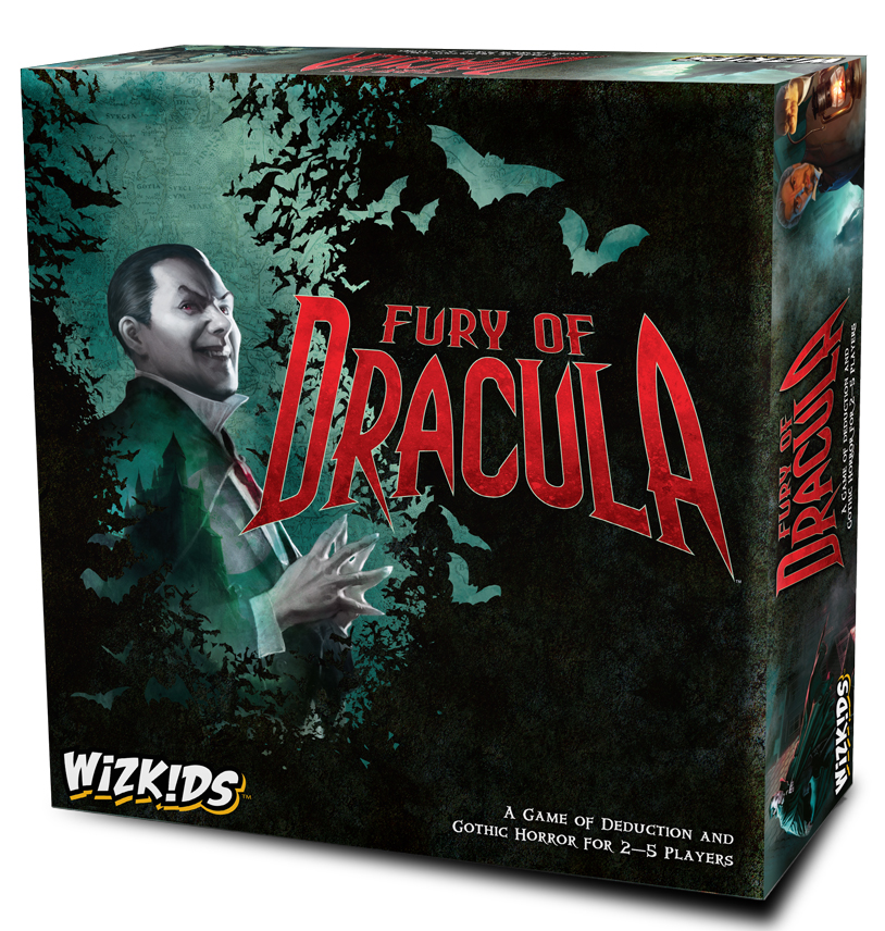 Fury ofDracula - Fourth EditionMSRP: $59.99Expected Release July 20182-5 Players, 2-3 Hours, Ages 14+