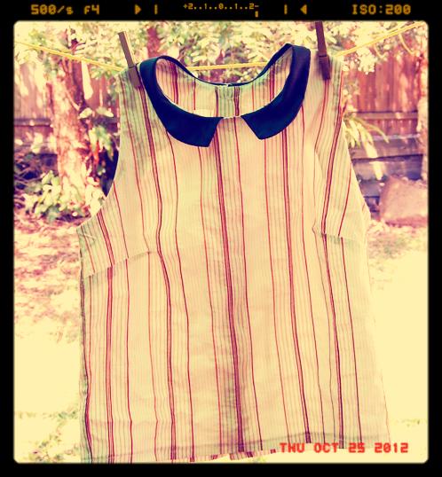 My version of stripey shirt