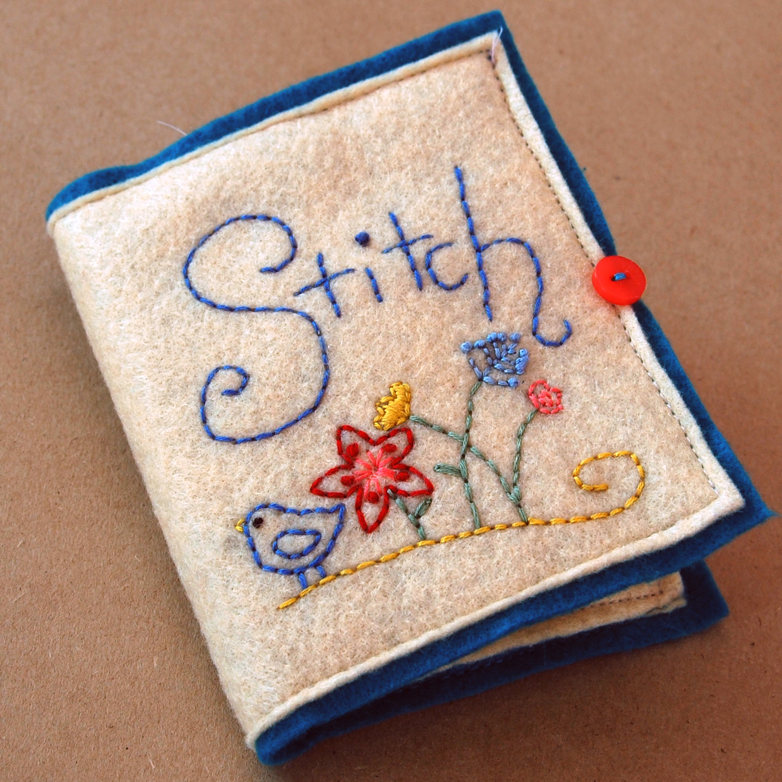 Ah Christmas! The joys of getting! Especially this lovely sewing kit handmade by Anna.