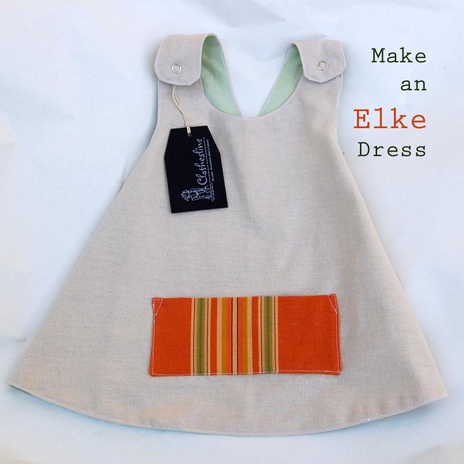 Elke Dress for Tiny Tots Tutorial