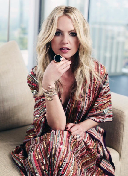 Rachel Zoe, stylist to...well, just about anyone and everyone... loves her vintage Pucci and Missoni caftans.