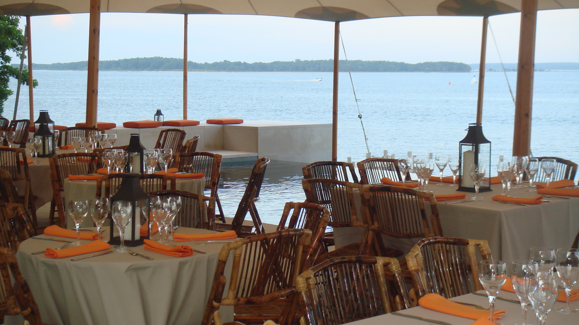 Hamptons event by the bay