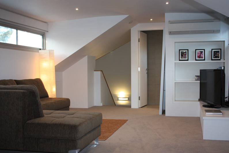 Attic utility rooms are there as your second living space - entertainment, gym or reading room!