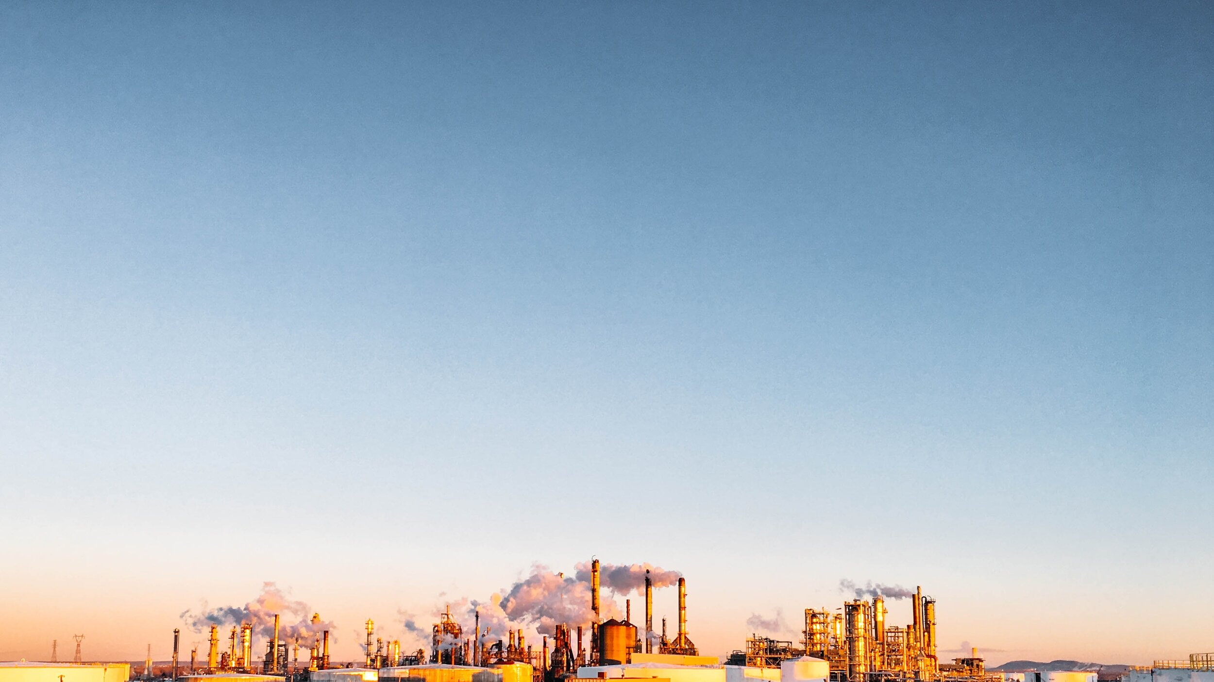 Oil refining is sliding out of the frame of relevance to the 21st century economy.