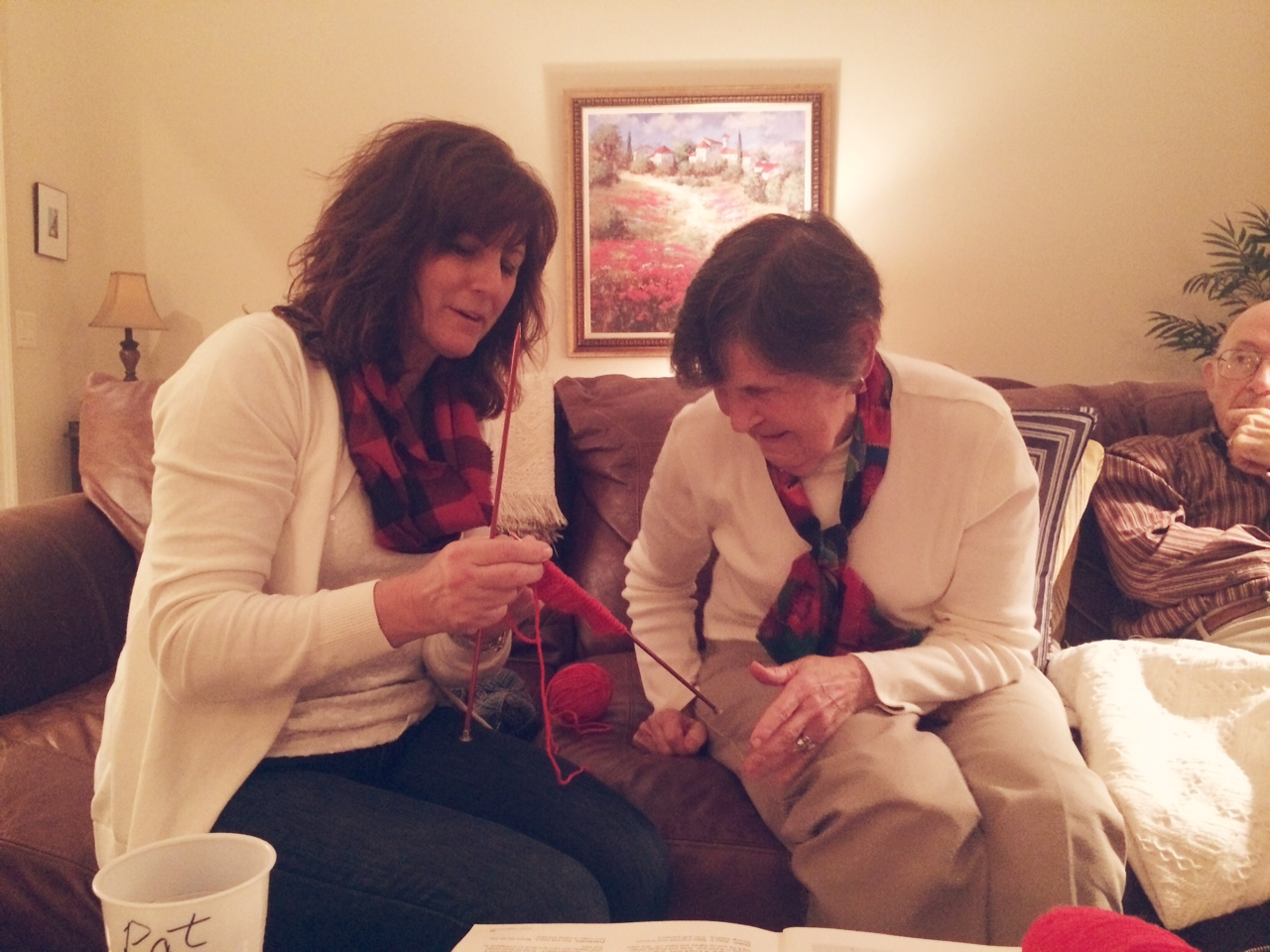 Sock knitting lessons from Granny