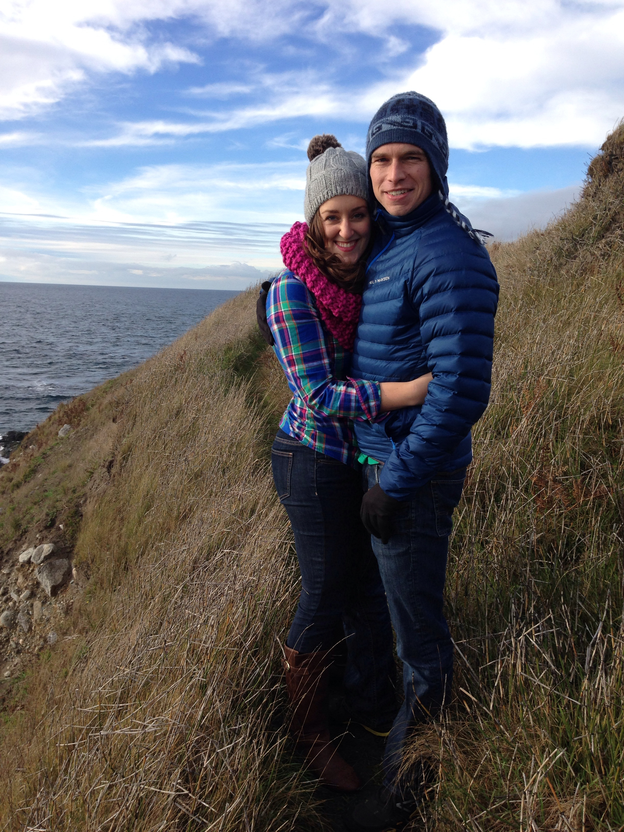 We took baby announcement photos here the day after Thanksgiving. This was the spot where Dave proposed to me in 2011.
