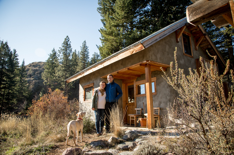 We got a bonus babymoon and went to the Methow Valley to stay in a timber frame tiny house for the weekend a few weeks ago. It was so cold, and so lovely.
