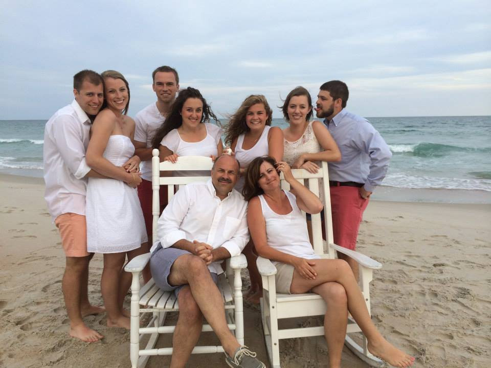 Other annual family vacation in Topsail, also with an extra Stalsbroten, but in utero. :)