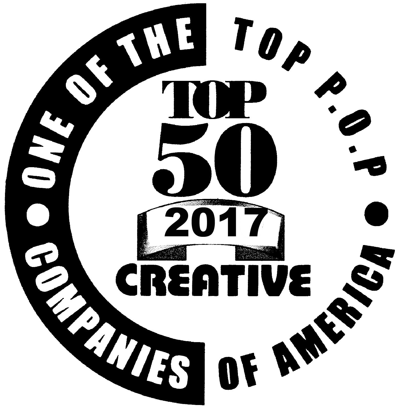 2017 Top 50 P.O.P. Companies of America    Creative Magazine